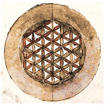 Leonardo da Vinci - Codex Atlanticus Folio 309 - Flower of Life