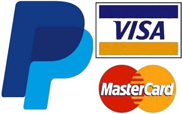 Paiement sécurisé Paypal CB, virement bancaire ou chèque