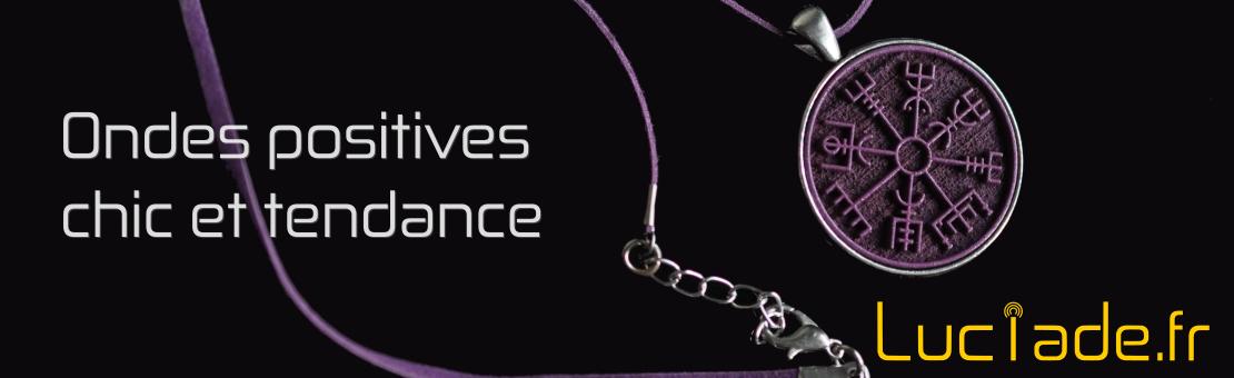 Bijoux magnétiques pendentifs personnalisés sur mesure Luciade